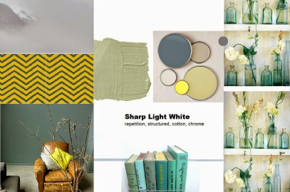 Sharp Light Wight – amazing colour recipe to brighten your space!